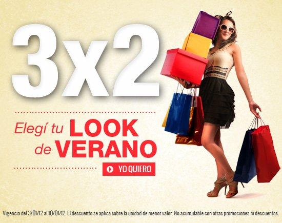 PROMO 3X2, elegi tu look de verano!!!.