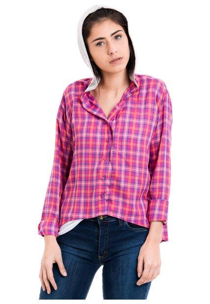 Camisa Fucsia 47 Street Scott