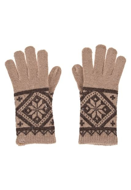 Guantes Beige 47 Street Coldy