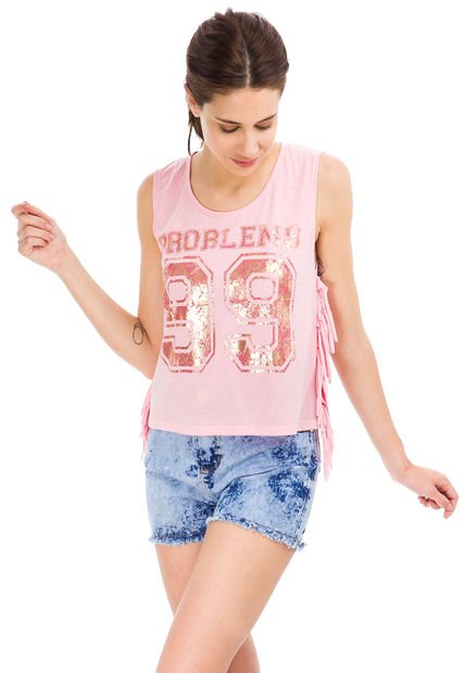 Musculosa Rosa 47 Street Problems