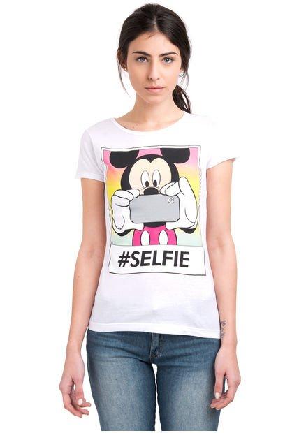 Remera Blanca 47 Street M. Selfie