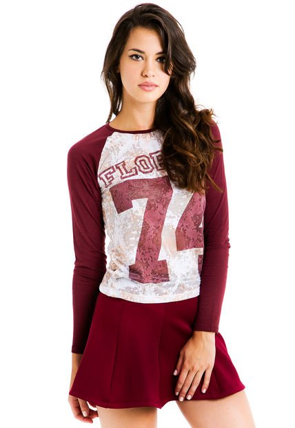 Remera Bordo 47 Street Florida