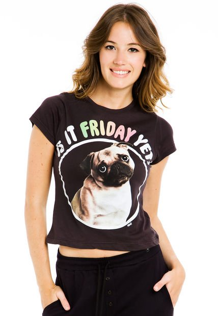 Remera Gris 47 Street Friday