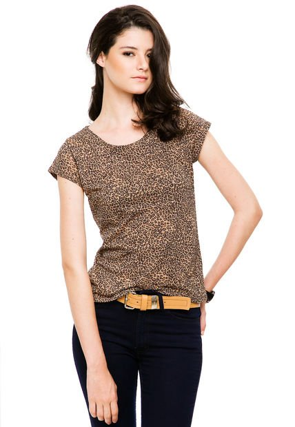 Remera Animal Print A.Y. NOT DEAD Dree Susy