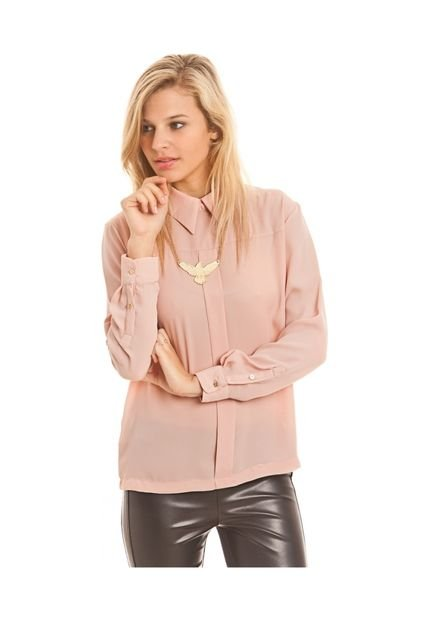 Blusa Rosa Agarrate Catalina Cheron