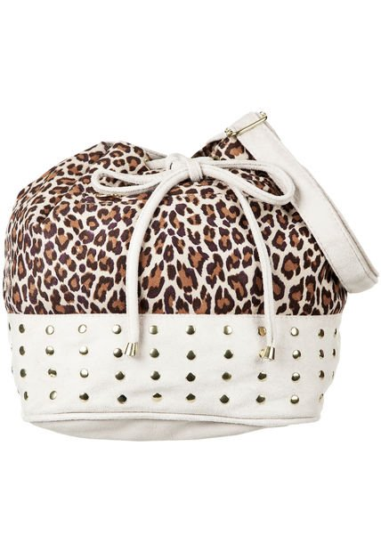 Bandolera Natural Aldei Bags Animal Print