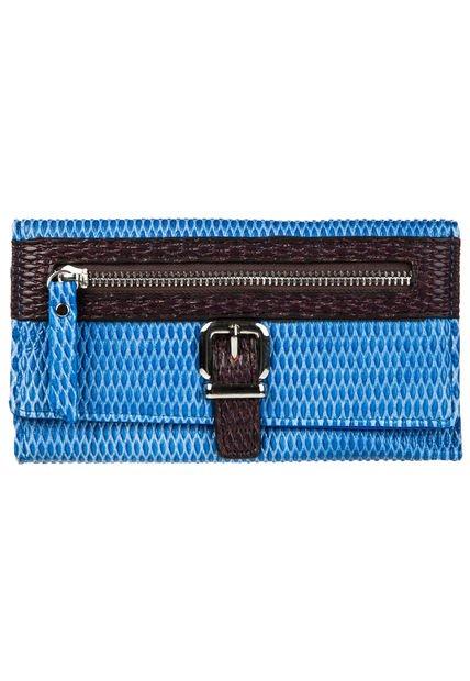Billetera Azul Aldei Bags