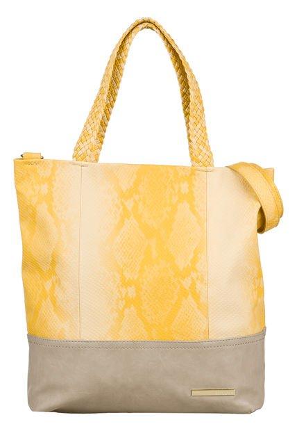 Cartera Amarilla Amphora Eleni