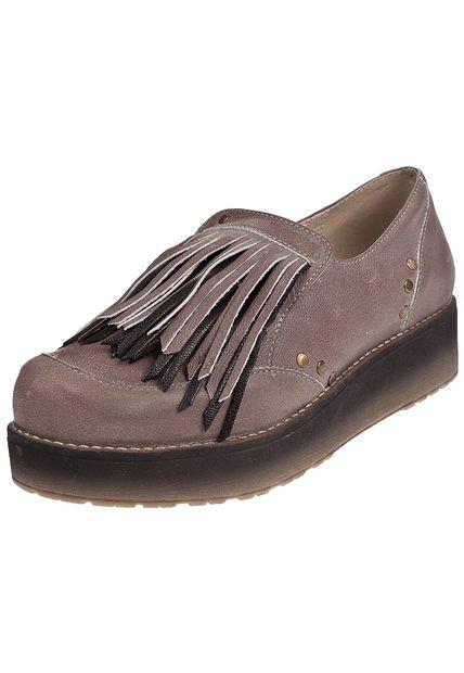 Zapato Vison Anca & Co con Plataforma y Flecos