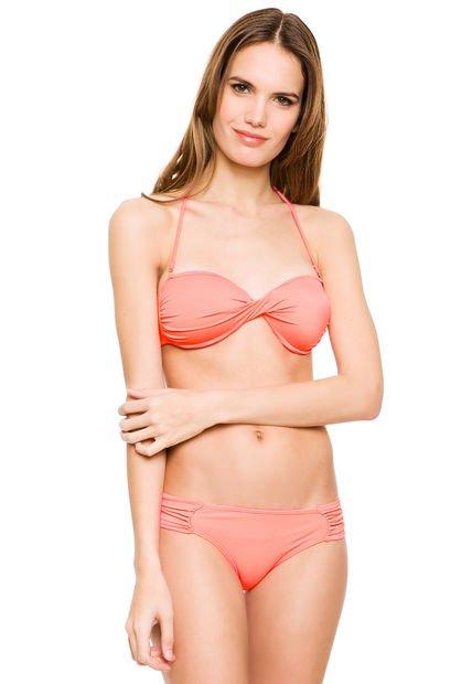 Bikini Coral Andressa Torsada