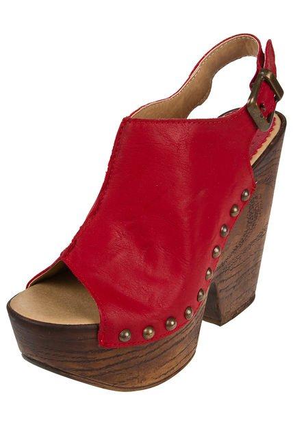 Zapato Rojo Berna Boca de Pez