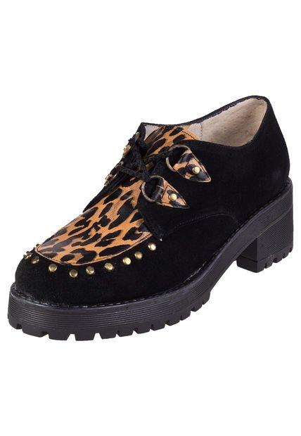Zapato Animal Print Britz