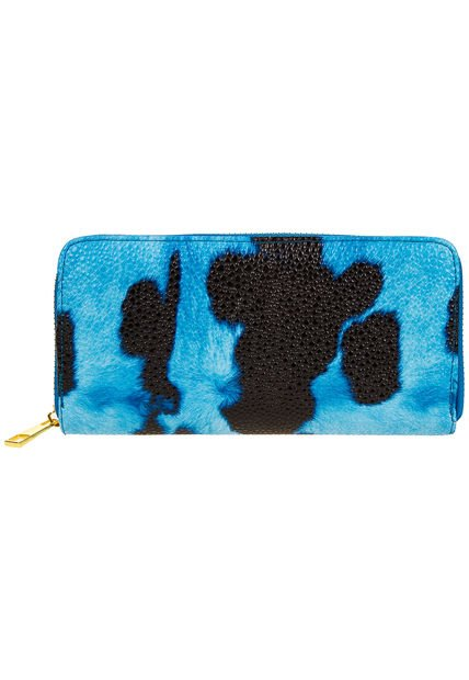 Billetera Celeste Chenson Animal Print