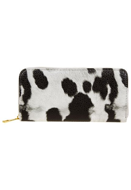 Billetera Gris Chenson Animal Print