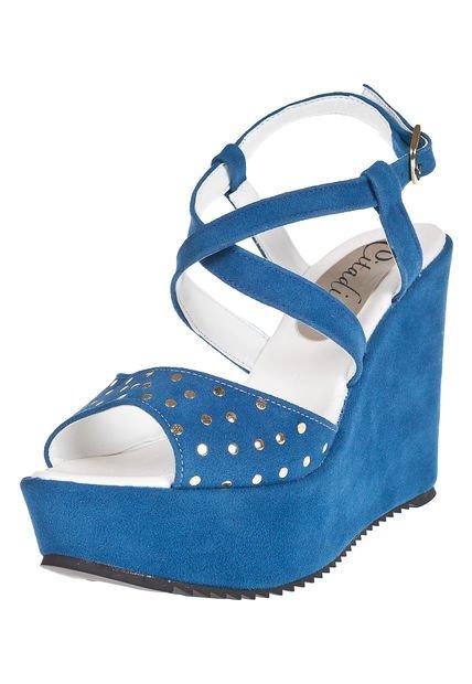 Sandalia Azul Citadina Arellys