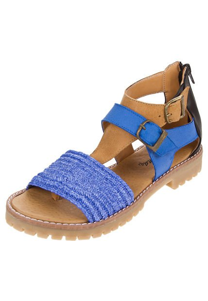 Sandalia Azul Citadina Elina