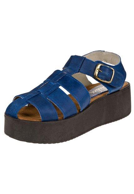 Sandalia Azul Citadina Josefa