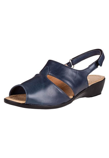 Sandalia Azul Citadina con Abrojo