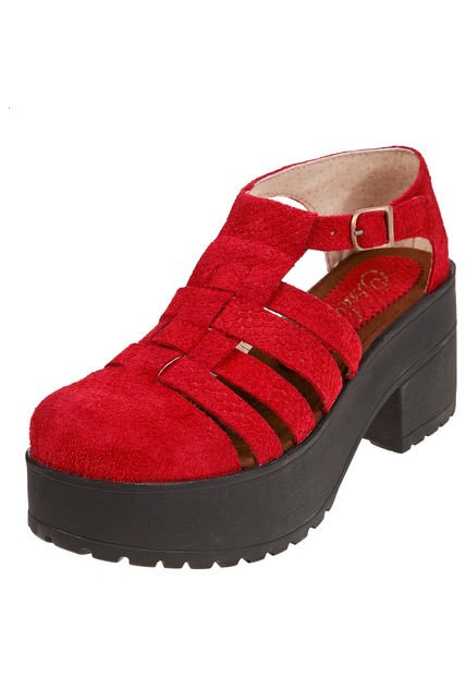 Zapato Rojo Citadina Jaci