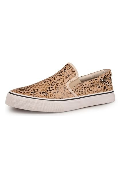 Pancha Animal Print Coca-Cola Shoes Late Onca Camurca