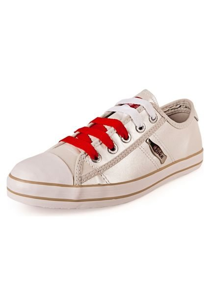 Zapatilla Blanca Coca-Cola Shoes Los Angeles Metallic