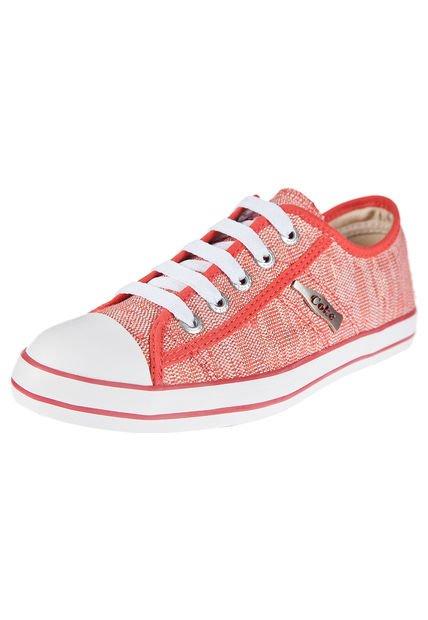 Zapatilla Coral Coca-Cola Shoes Los Angeles Glam