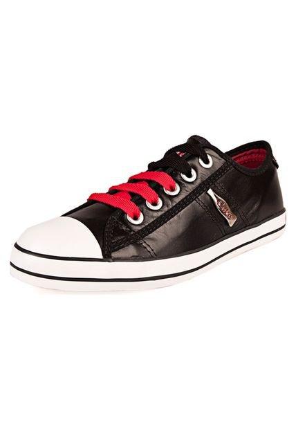 Zapatilla Negra Coca-Cola Shoes Los Angeles Metallic