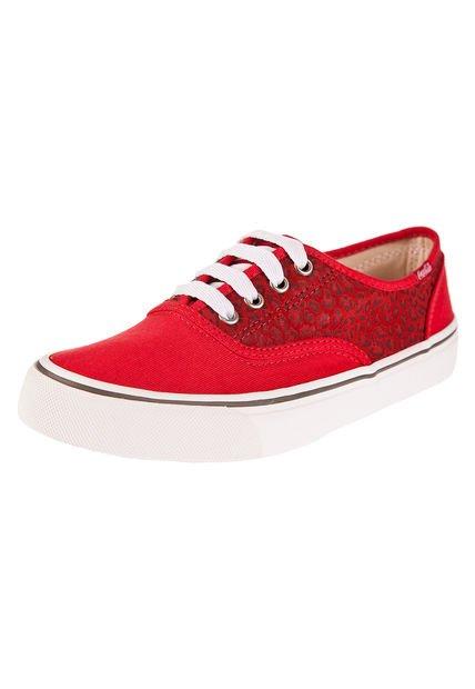 Zapatilla Roja Coca-Cola Shoes Kick Onca