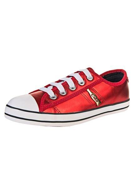 Zapatilla Roja Coca-Cola Shoes Los Angeles Metallic