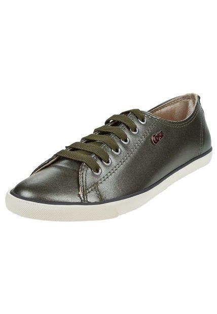 Zapatilla Verde Coca-Cola Shoes The Best Leather Metalic