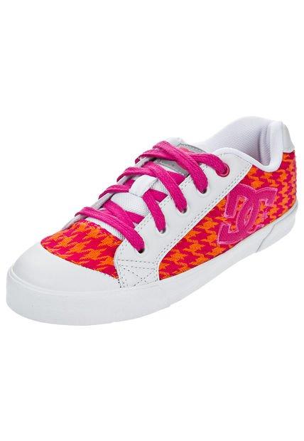 Zapatilla Naranja DC Shoes Chelsea Girl