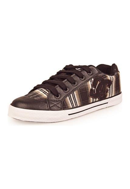 Zapatilla Negra DC Shoes Chelsea