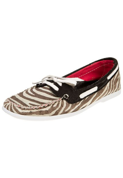 Mocasin Animal Print Foglia Zinnia