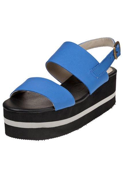 Sandalia Azul Foglia Liatris