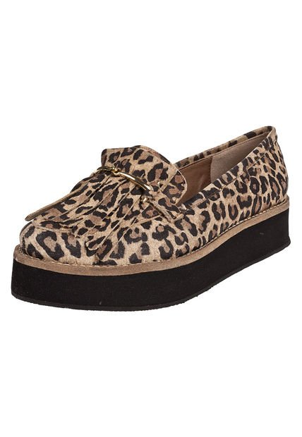 Zapato Animal Print Foglia Vicky
