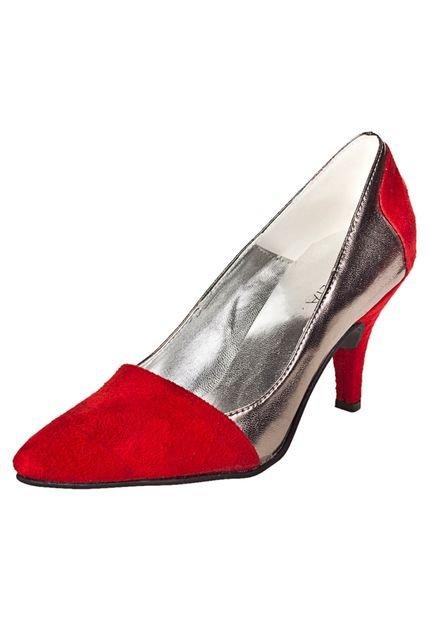 Zapato Plateado Foglia Vanessa
