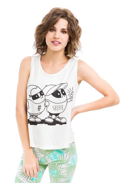 Musculosa Natural Hendy Selfie