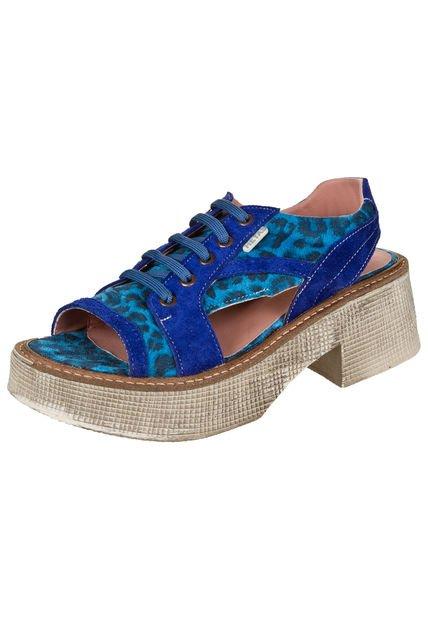 Sandalia Azul Heyas Sipi