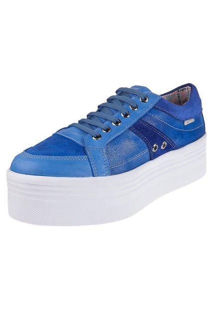 Zapatilla Azul Heyas Sopo