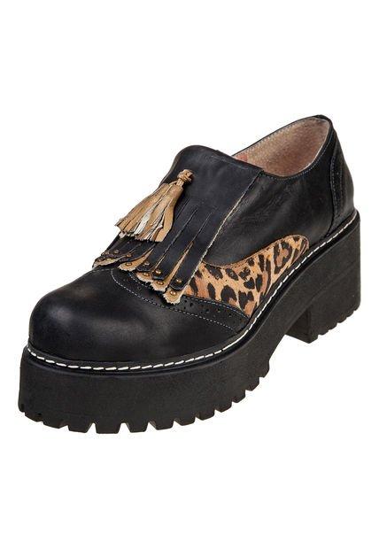 Zapato Negro Heyas Serena