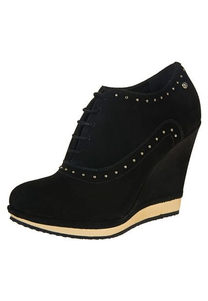 Zapato Negro Hush Puppies Candeli
