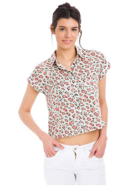 Camisa Coral Inedita