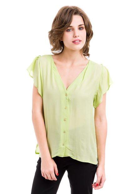 Camisa Verde Inedita