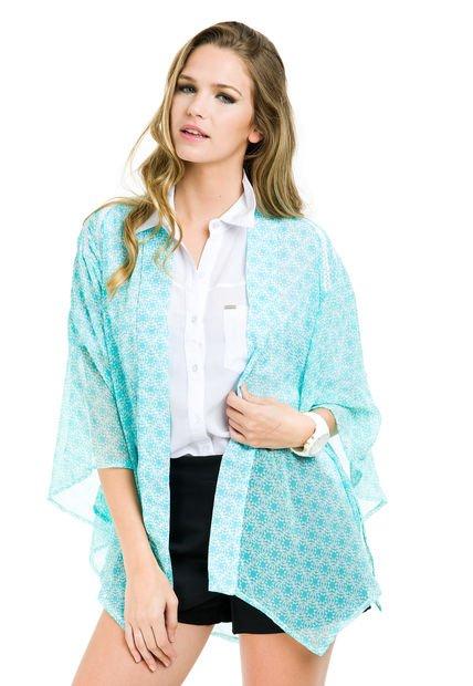 Kimono Aqua Inedita