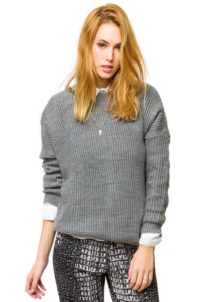 Sweater Gris Inedita