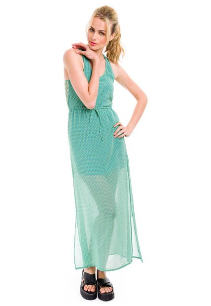 Vestido Verde Inedita