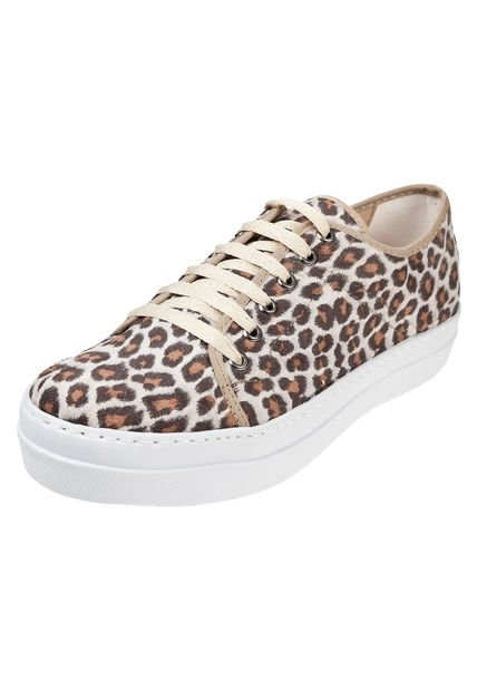 Zapatilla Animal Print Inkas Rayada