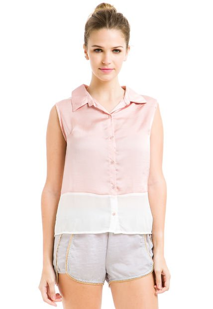 Camisa Rosa Inversa Belly