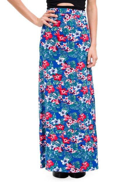 Falda Azul Inversa Storry