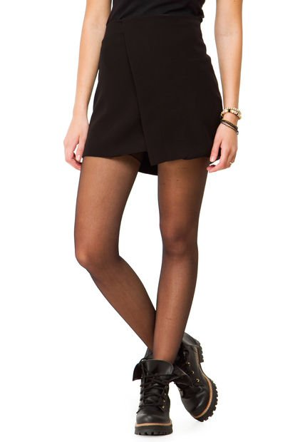 Falda Negra Inversa Prada